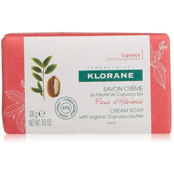 KLORANE / КЛОРАН крем-сапун цвят от хибискус 100 г