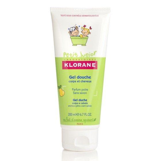 KLORANE PETIT JUNIOR / КЛОРАН детски гел душ за коса и тяло с аромат на круша