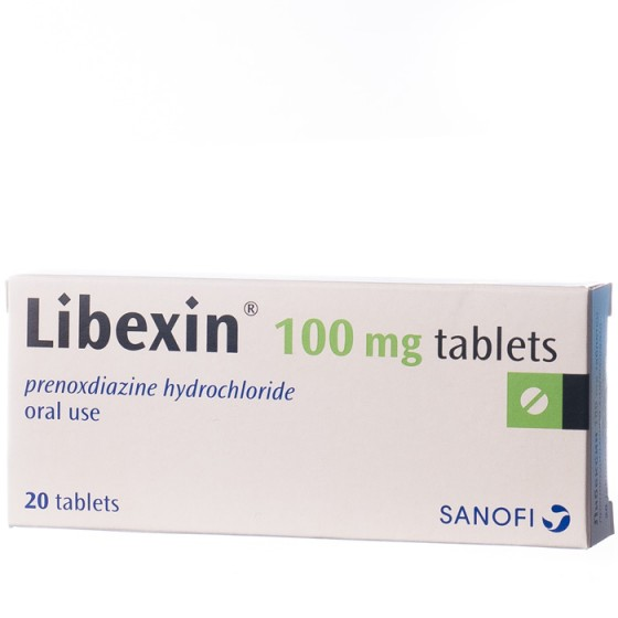 Либексин таблетки при кашлица 20 бр.