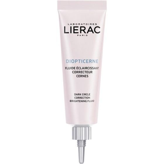 LIERAC Diopticerne / ЛИЕРАК озаряващ околоочен флуид против тъмни кръгове и сенки под очите 15 мл