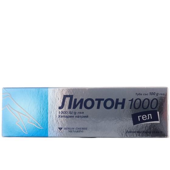 Лиотон 1000 гел 100 г