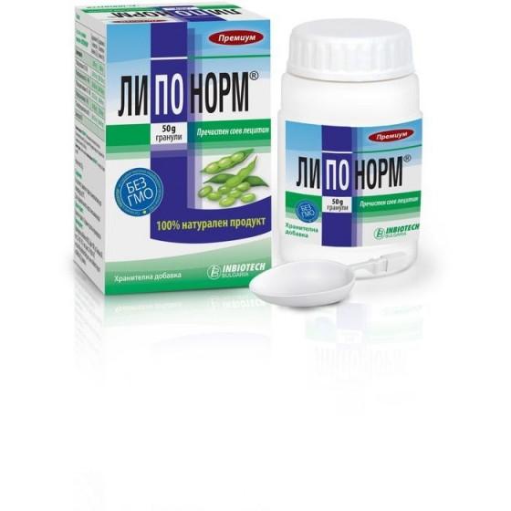 LIPONORM / ЛИПОНОРМ за понижаване на холестерола 50 г гранули