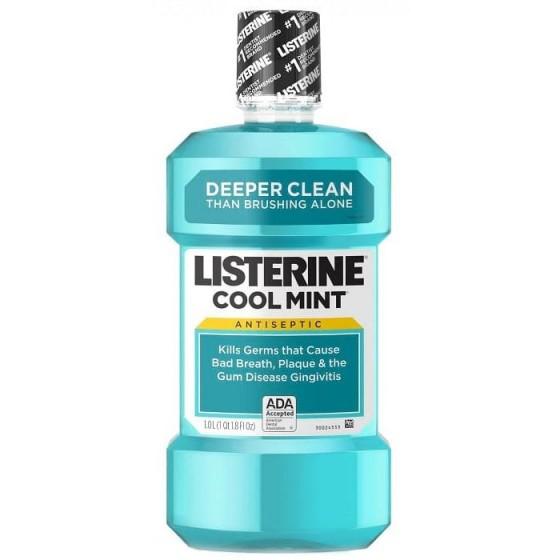 LISTERINE COOL MINT / ЛИСТЕРИН вода за уста 500 мл