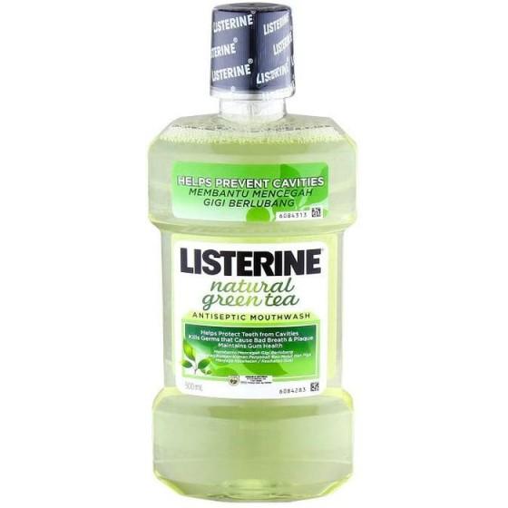 LISTERINE GREEN TEA / ЛИСТЕРИН вода за уста 500 мл