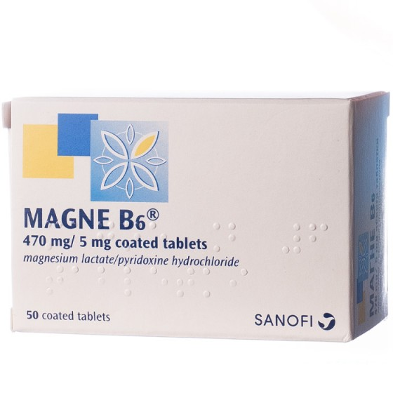 MAGNE B6 / МАГНЕ Б6 50 таблетки