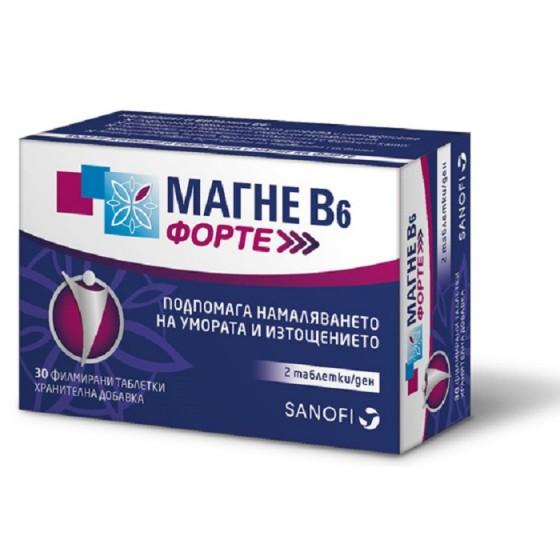 MAGNE B6 / МАГНЕ Б6 Форте 30 таблетки