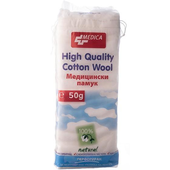 Медицински памук Медика 50 гр.
