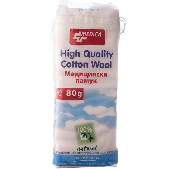 Медицински памук Медика 80 гр.