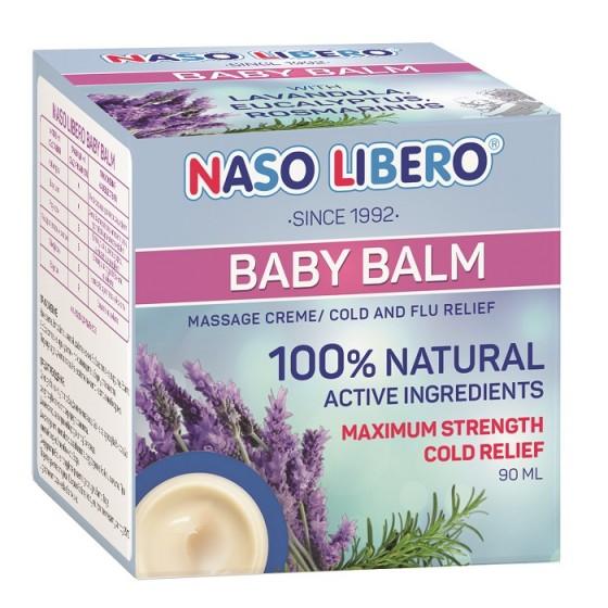 NASO LIBERO BABY BALM / НАЗО ЛИБЕРО балсам за бебета 90 мл