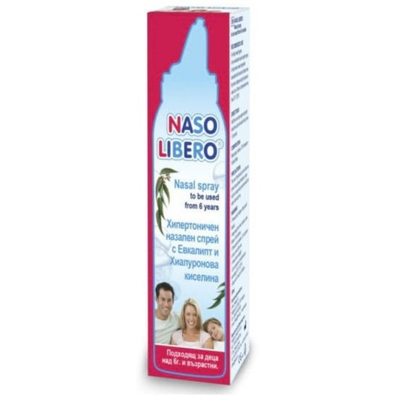 NASO LIBERO / НАЗО ЛИБЕРО назален спрей с евкалипт и хиалуронова киселина 100 мл