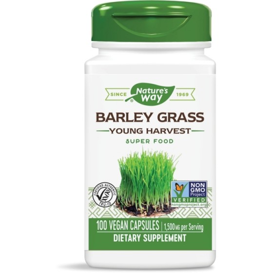 Nature\'s Way  ечемик млади стръкове 100 капсули х 500 мг
