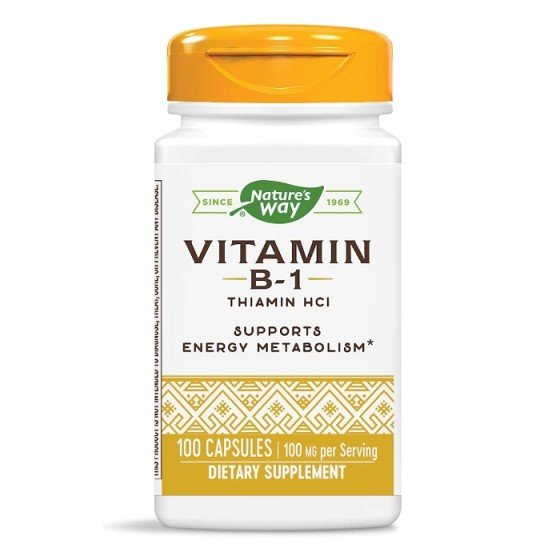 Nature's Way Витамин B1 100 mg 100 капсули