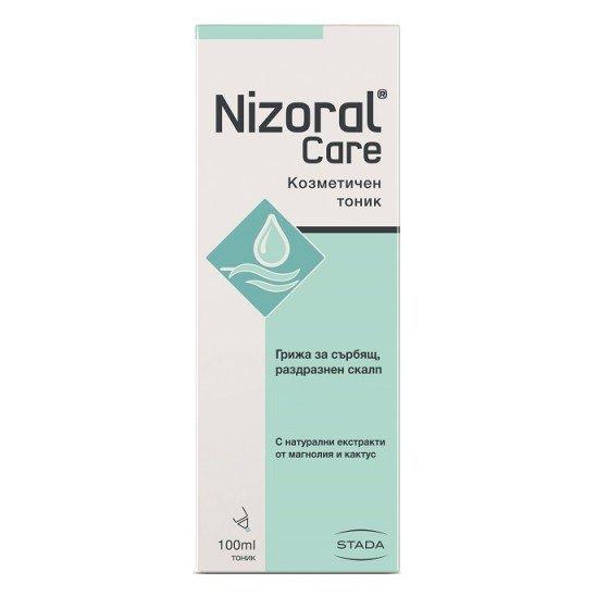 NIZORAL / НИЗОРАЛ тоник за сърбящ и раздразнен скалп 100 мл