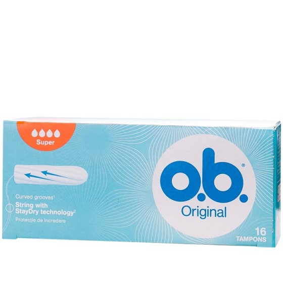 O.B. дамски тампони Super 16 бр. кутия