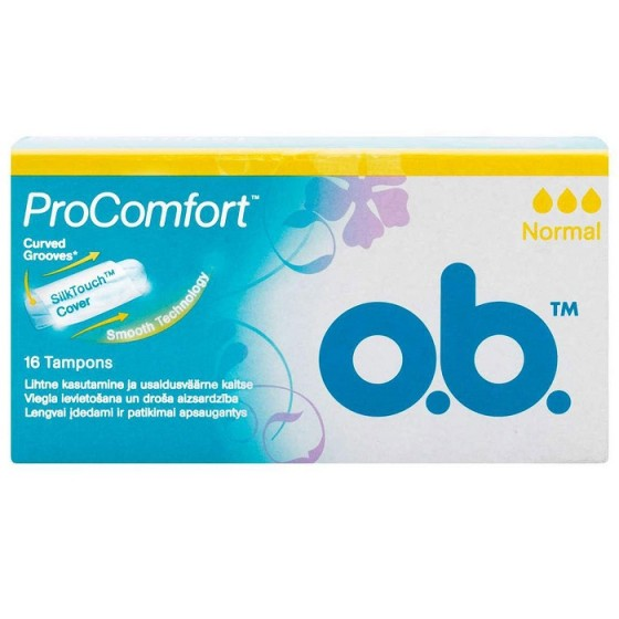 O.B. дамски тампони ProComfort Normal 16 бр. кутия