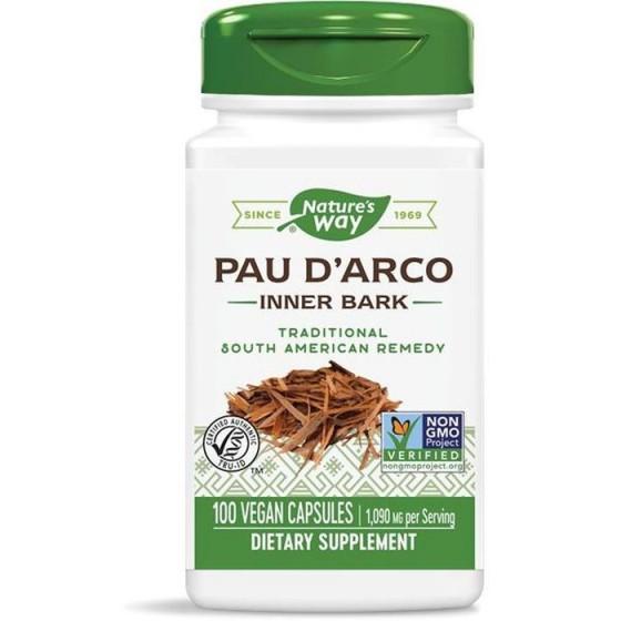 Nature\'s Way Мравчено дърво / Пау Д\'Арко (вътрешна кора) 545 mg 100 капсули