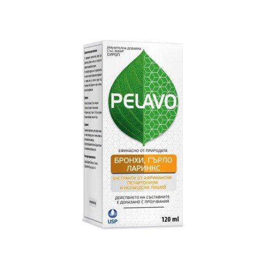 PELAVO / ПЕЛАВО бронхи, гърло и ларинкс сироп 120 мл