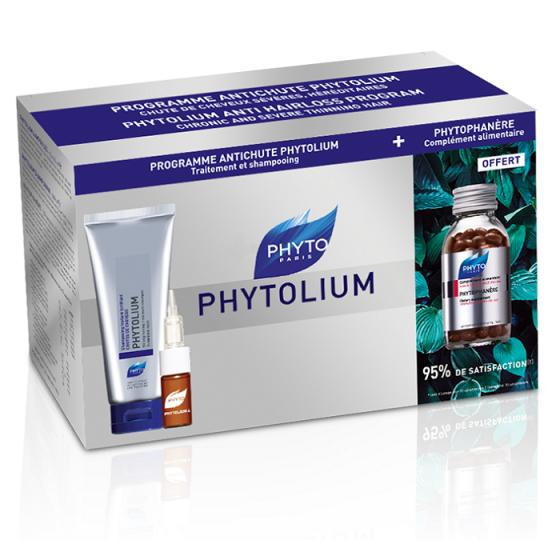 PHYTOlium Global Program / ФИТО промо комплект терапия против косопад в 3 стъпки