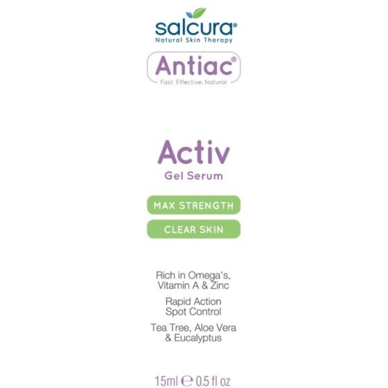 SALCURA Antiac Activ / САЛКУРА гел-серум против акне 15 мл