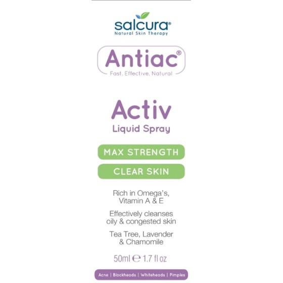 SALCURA Antiac Activ / САЛКУРА спрей против акне 50 мл