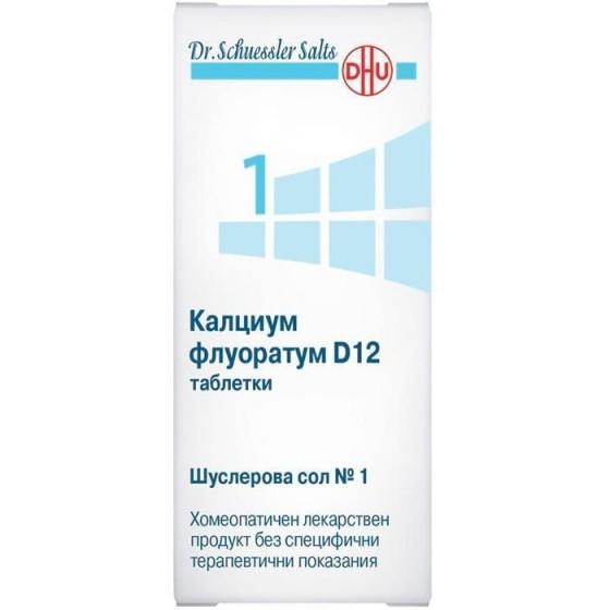 ШУСЛЕРОВА СОЛ №1 Калциум флуоратум D12 420 табл.