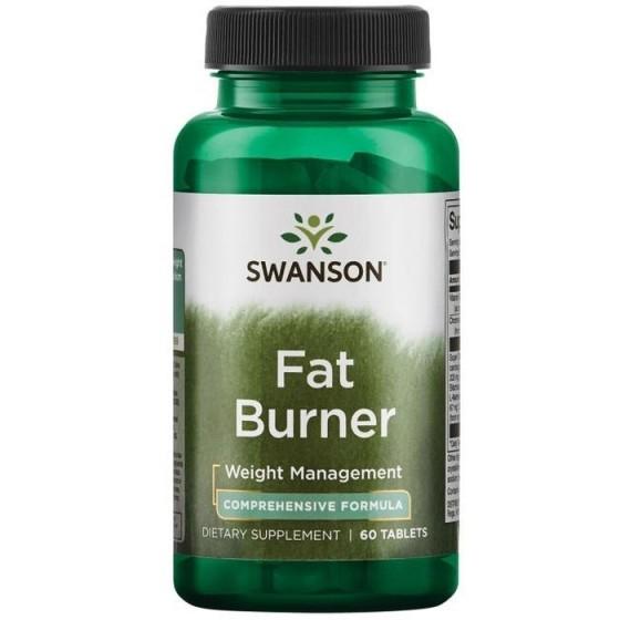 SWANSON Fat Burner / СУОНСЪН 60 таблетки за изгаряне на мазнини