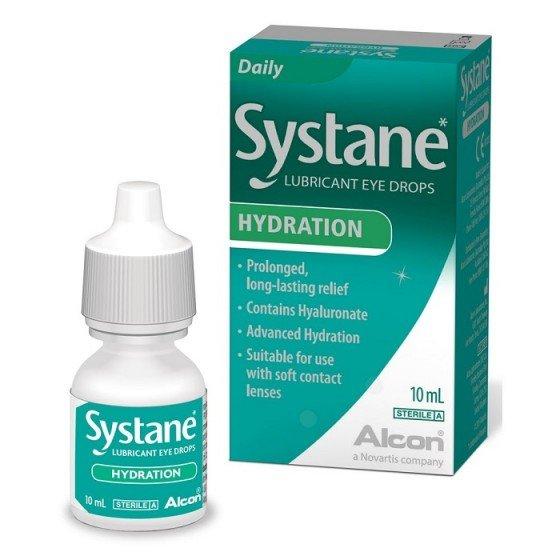 Systane Hydration овлажняващи капки за очи 10 мл