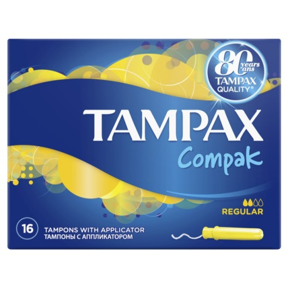 TAMPAX Compak Normal 16 тампона