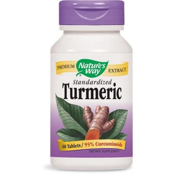 Nature\'s Way Turmeric / Куркума 500 mg 60 таблетки