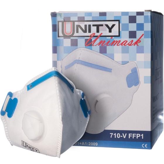 Предпазна маска за дихателна защита с ластик