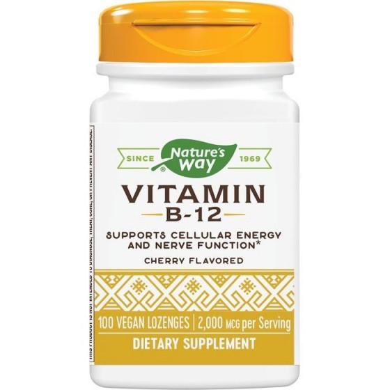 Nature\'s Way Витамин B12 2 mg 100 таблетки