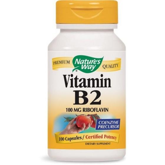 Nature\'s Way Витамин B2 100 mg 100 капсули