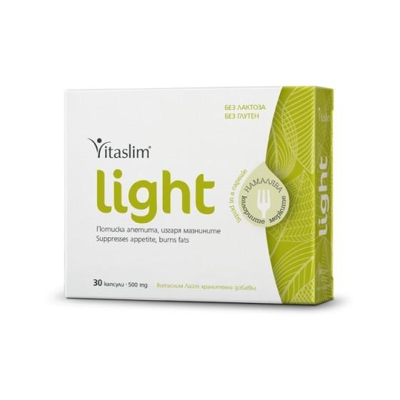 VITASLIM Light / ВИТАСЛИМ Лайт за потискане на апетита 30 капсули