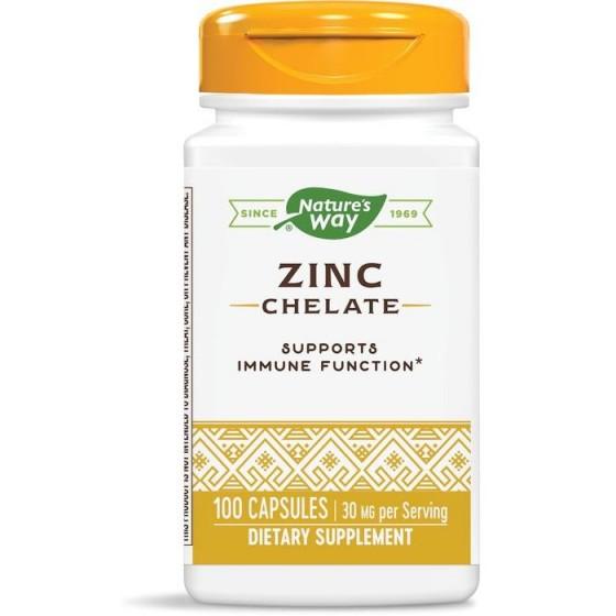 Nature\'s Way Цинк 30 mg 100 капсули