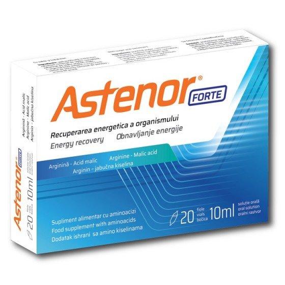 ASTENOR Forte / АСТЕНОР Форте тонизираща добавка за енергия 10 мл 20 ампули