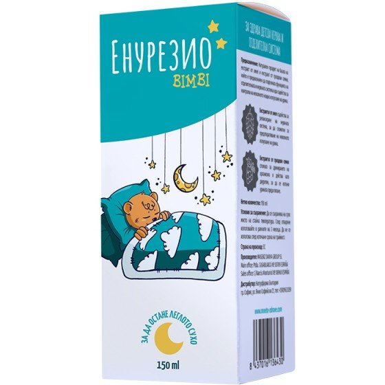 ENURESIO BIMBI / ЕНУРЕЗИО БИМБИ детски сироп при нощно напикаване