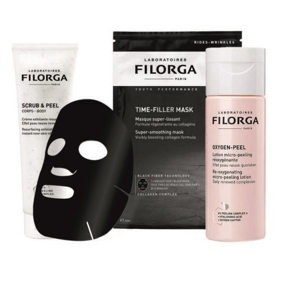 FILORGA Beauty Box-3 / ФИЛОРГА Пилинг & Подхранване промо комплект за Вашата кожа