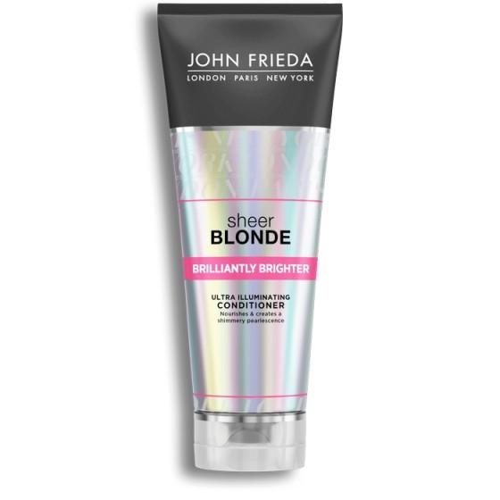JOHN FRIEDA Sheer Blonde / ДЖОН ФРИДА балсам за ултра блясък за руса коса 250 мл