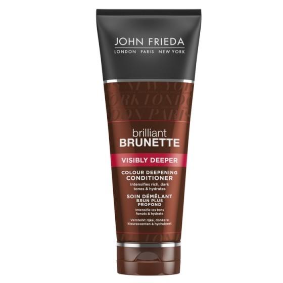 JOHN FRIEDA Brilliant Brunette / ДЖОН ФРИДА балсам за потъмняване на косата 250 мл
