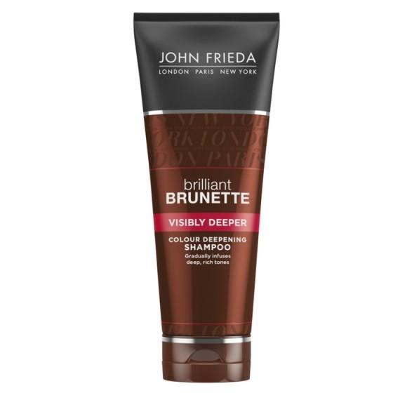 JOHN FRIEDA Brilliant Brunette / ДЖОН ФРИДА шампоан за потъмняване на косата 250 мл