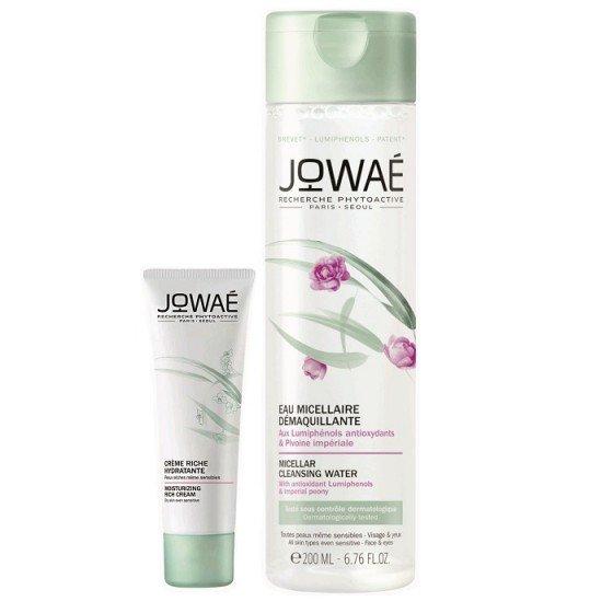 JOWAE Fresh Hydratation комплект хидратиращ крем 40 мл и мицеларна вода 200 мл -75%