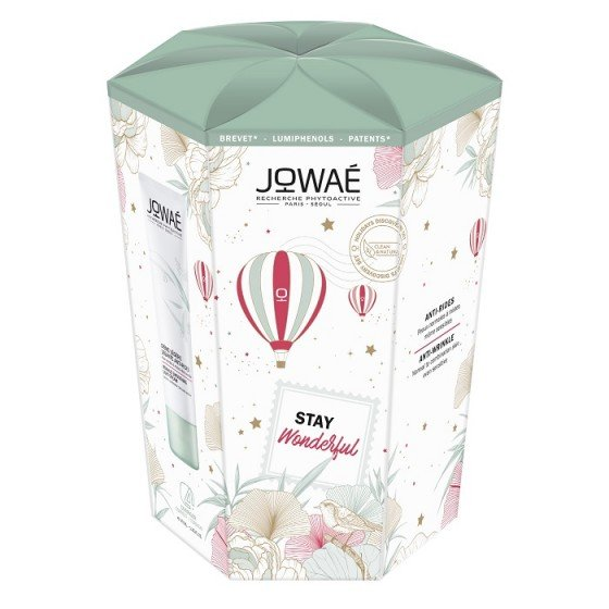 JOWAE Stay Wonderful комплект изглаждащ крем 40 мл и успокояващо почистващо мляко 200 мл -75%