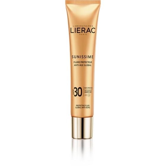 LIERAC Sunissime / ЛИЕРАК Сънисим слънцезащитен флуид лице SPF30 40 мл