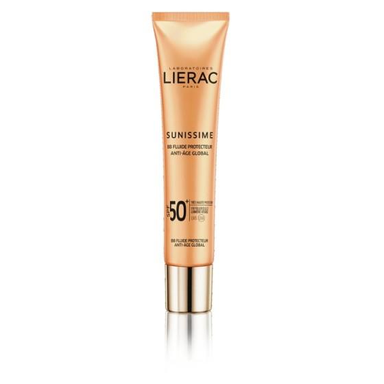 LIERAC Sunissime / ЛИЕРАК Сънисим слънцезащитен BB флуид лице SPF50 40 мл