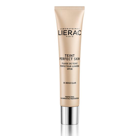 LIERAC Perfect Skin / ЛИЕРАК фон-дьо-тен 01 Light Beige с SPF20 30 мл