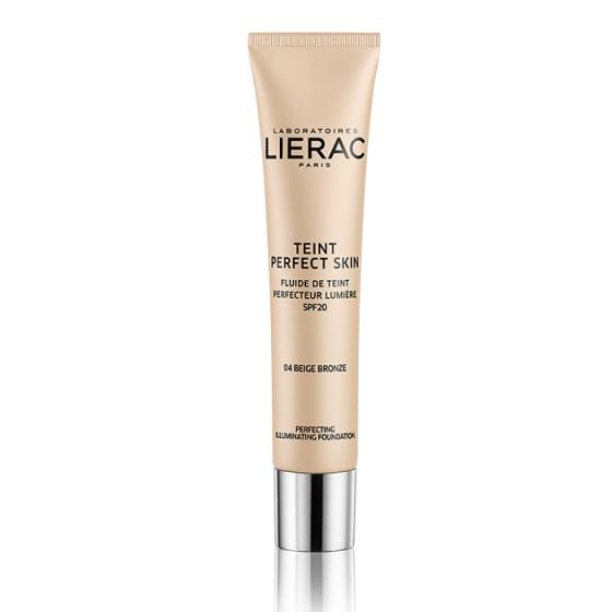LIERAC Perfect Skin / ЛИЕРАК фон-дьо-тен 04 Bronze Beige с SPF20 30 мл