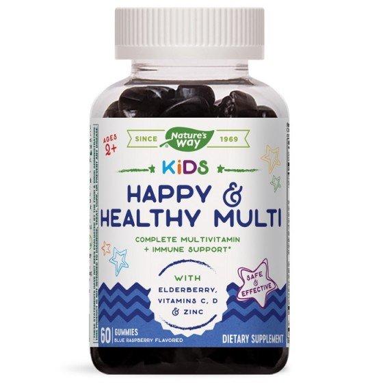 NATURE\'S WAY Kids Happy and Healthy Multi за нормална имунна функция 60 желирани таблетки