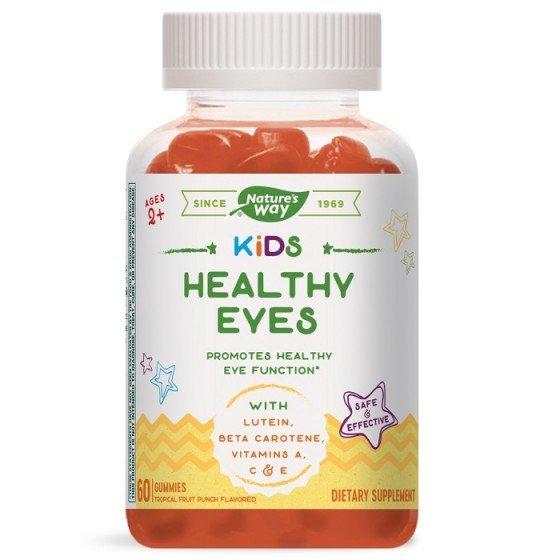 NATURE\'S WAY Kids Healthy Eyes за нормална зрителна функция 60 желирани таблетки