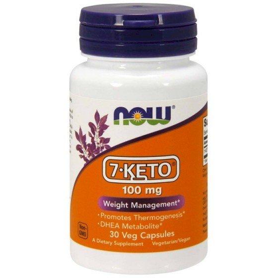 NOW Foods 7-KETO / НАУ Фудс 7-КЕТО за контрол на теглото 30 капсули