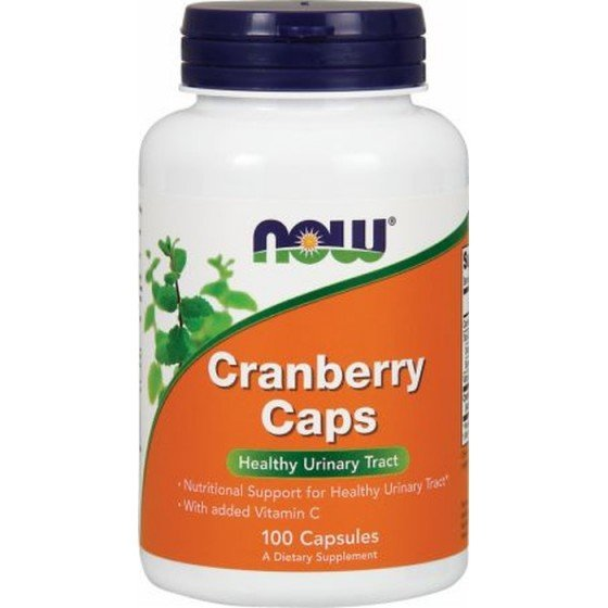 NOW Foods Cranberry / НАУ Фудс червена боровинка концентрат 700 мг 100 капсули